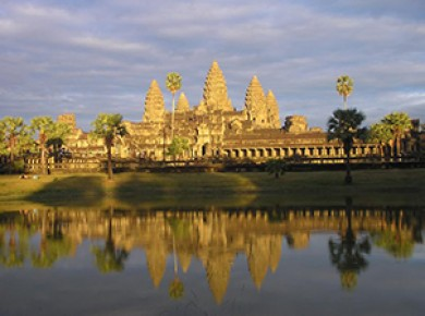 Under the Cambodian Sun, discoveries and relaxation
