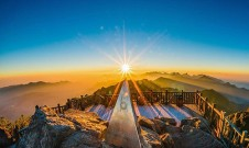 Fansipan-the highest mountain in Indochina